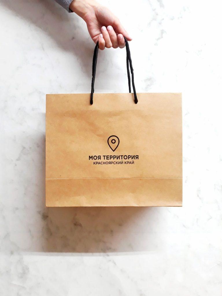 Логотипы на пакетах