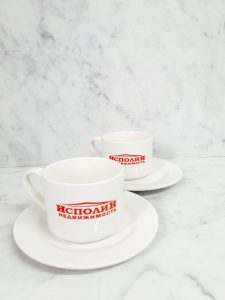 Печать на кофейных парах