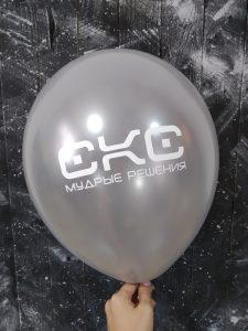 Печать логотипа на шариках