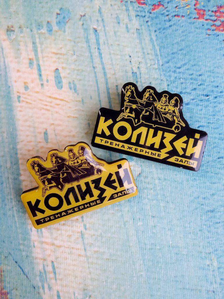 Фирменные значки с лого